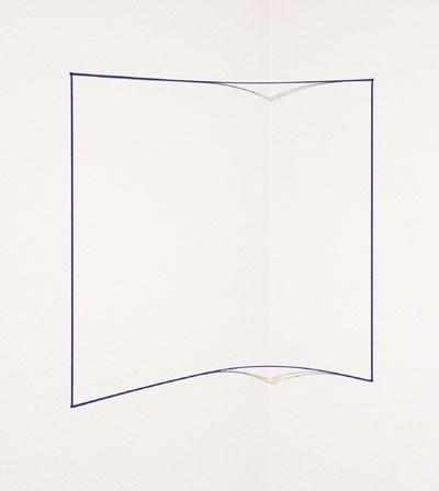 Blue Day-glo Corner Piece