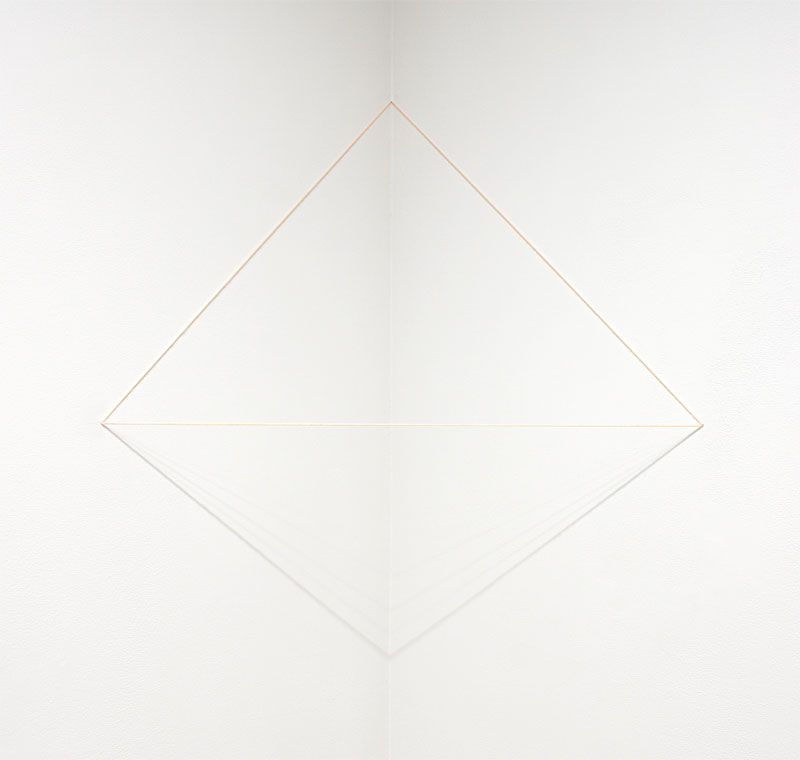 Untitled (Pink Triangle)