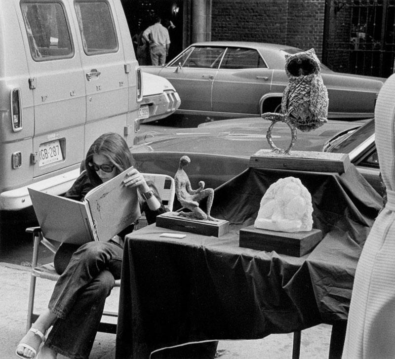 Artwork details washington square new york city 1970