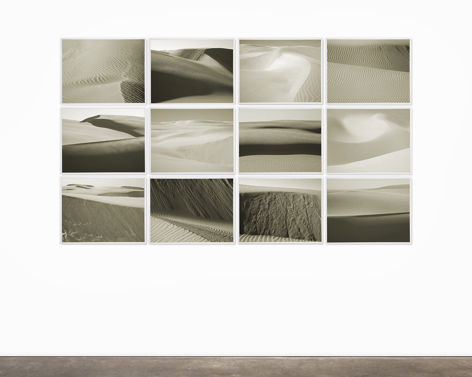 ray charles white ray charles white dune studies 2014 set of twelve carbon pigment prints